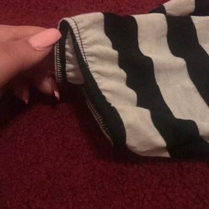Charlotte Russe Tops - striped shirt, slightly puffed at shoulders